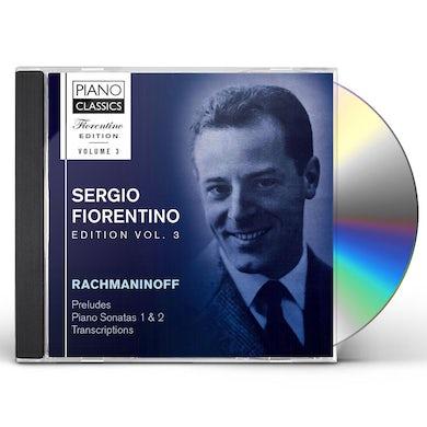 Rachmaninov FIORENTINO EDITION VOL 3 CD