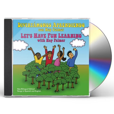 Hap Palmer DIVIRTAMONOS APRENDIENDO / LET'S HAVE FUN LEARNING CD