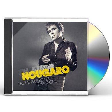 Claude Nougaro LES 100 PLUS BELLES CHANSONS CD