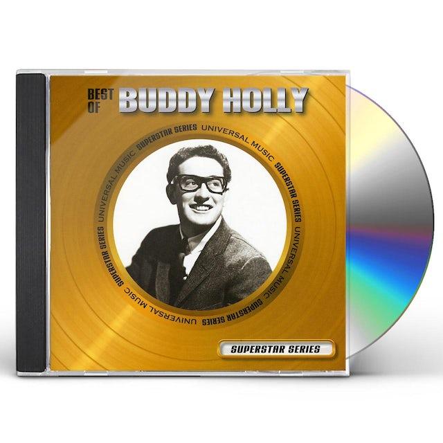 Buddy Holly BEST OF: SUPERSTAR SERIES CD