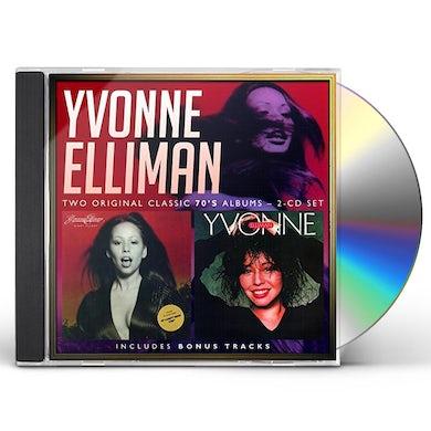 Yvonne Elliman NIGHT FLIGHT / YVONNE CD