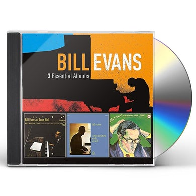Bill Evans 3 ESSENTIAL ALBUMS CD