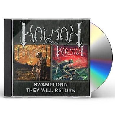 Kalmah SWAMPLORD / THEY WILL RETURN CD