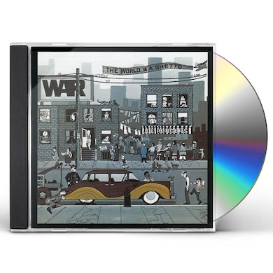 War WORLD IS A GHETTO CD