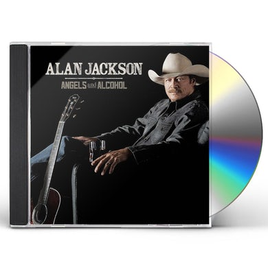 Alan Jackson ANGELS & ALCOHOL CD