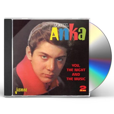 Paul Anka YOU THE NIGHT & THE MUSIC CD