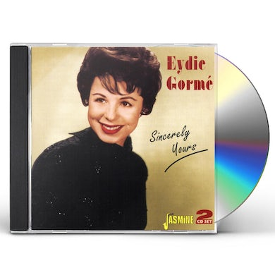 Eydie Gorme SINCERELY YOURS CD