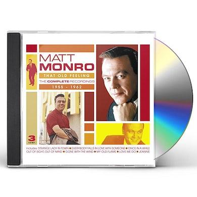 Matt Monro THAT OLD FEELING: COMPLETE RECORDINGS 1955-1962 CD