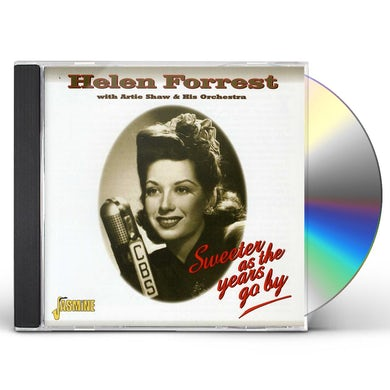 Helen Forrest SWEETER AS THE YEARS GO BY CD