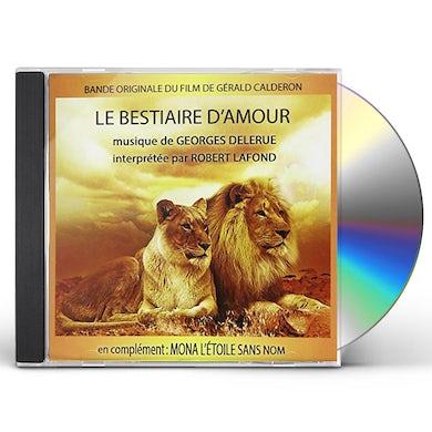 Georges Delerue LE BESTIAIRE D'AMOUR / MONA L'ETOILE SANS / Original Soundtrack CD