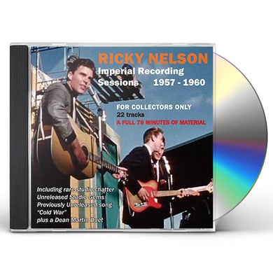 Ricky Nelson IMPERIAL RECORDING SESSIONS 1957-1960 CD