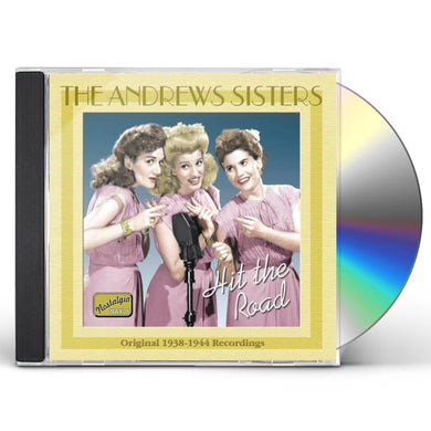 Andrews Sisters HIT THE ROAD (1938-44) CD