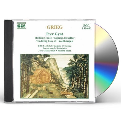 Grieg ORCHESTRAL MUSIC CD