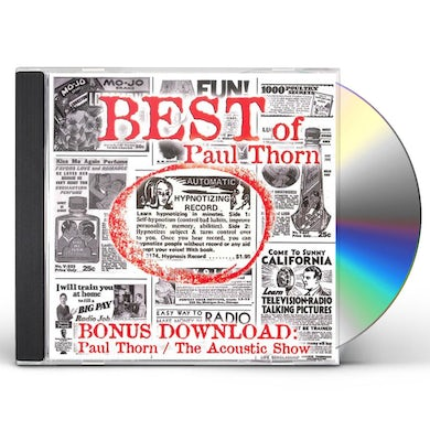 BEST OF PAUL THORN (INCLUDES THE ACOUSTIC SHOW) CD