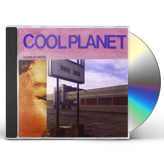 Guided By Voices COOL PLANET CD