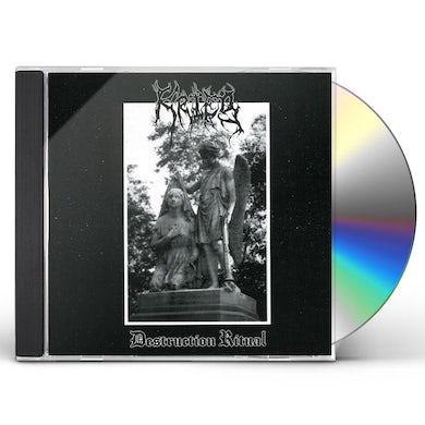 Krieg DESTRUCTION RITUAL CD