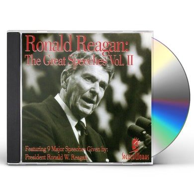 Ronald Reagan GREAT SPEECHES 2 CD