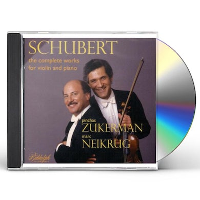 Schubert COMPLETE WORKS FOR VIOLIN / PIANO CD