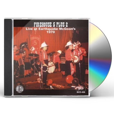 Firehouse Five Plus Two LIVE AT EARTHQUAKE MCGOON'S 1970 CD