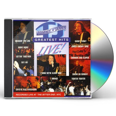 Tommy James GREATEST HITS LIVE CD