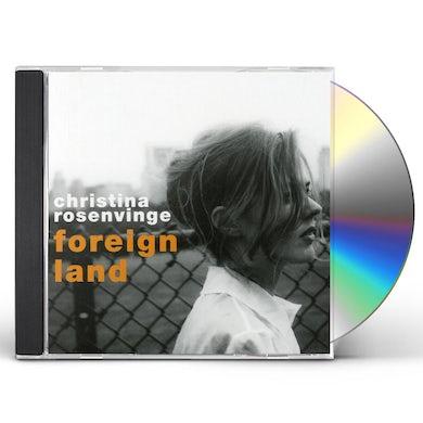Christina Rosenvinge FOREIGN LAND CD