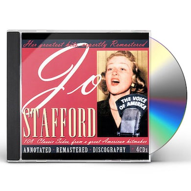 Jo Stafford: Her Greatest Hits Remastered CD