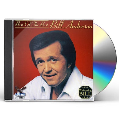 Bill Anderson BEST OF THE BEST CD