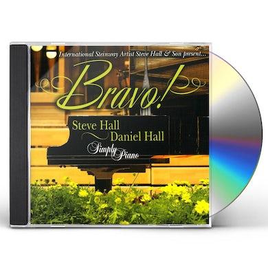 Steve Hall BRAVO CD