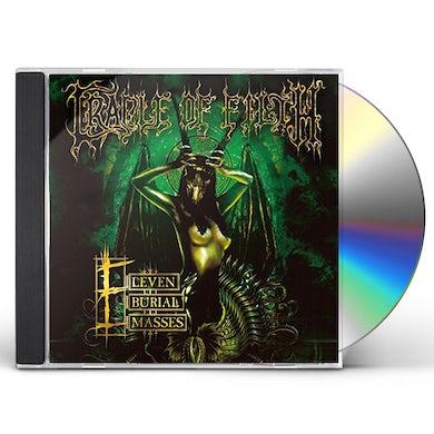Cradle Of Filth ELEVEN BURIAL MASSES CD