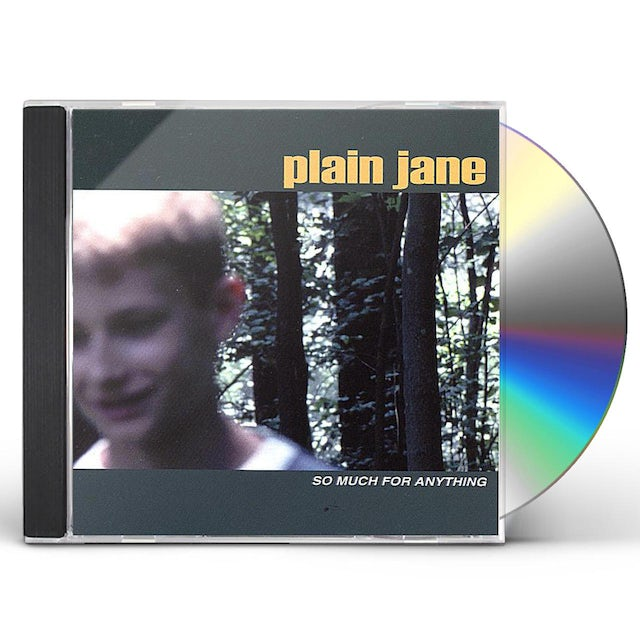Plain Jane SO MUCH FOR ANYTHING CD
