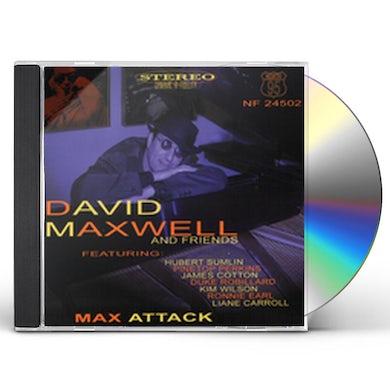 David Maxwell MAX ATTACK CD