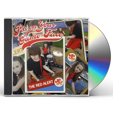 Red Alert PUT ON YOUR GAME FACE CD