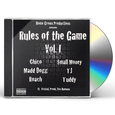 Home Grown RULES OF THE GAME 1 CD