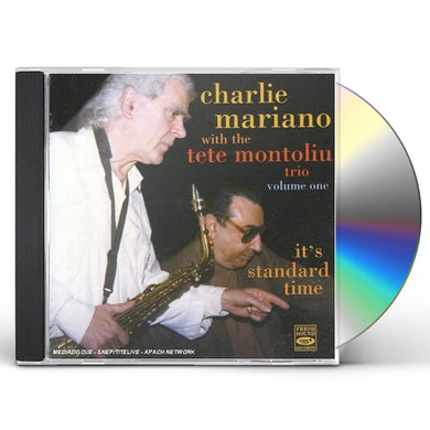 Charlie Mariano IT'S STANDARD TIME 1 CD