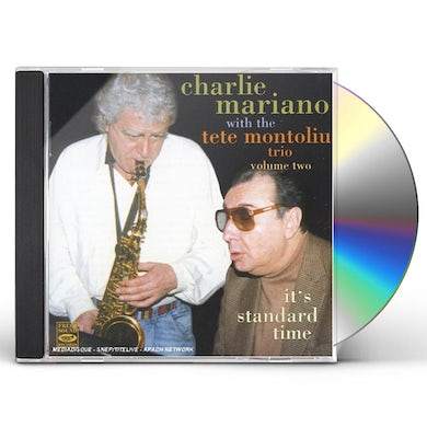 Charlie Mariano IT'S STANDARD TIME 2 CD