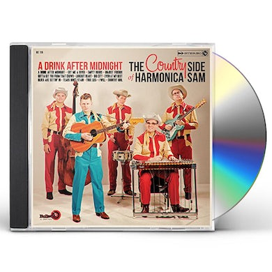 COUNTRY SIDE OF HARMONICA SAM DRINK AFTER MIDNIGHT CD