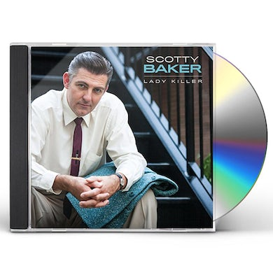 Scotty Baker LADY KILLER CD