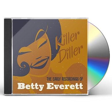 Betty Everett KILLER DILLER: THE EARLY RECORDINGS CD