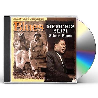 Slim Memphis  BLUES CAFE PRESENTS SLIM'S BLUES CD