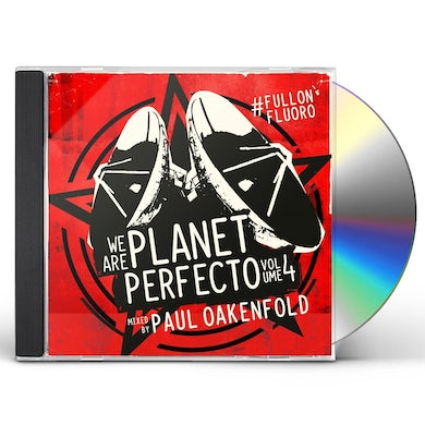 Paul Oakenfold WE ARE PLANET PERFECTO 4 CD