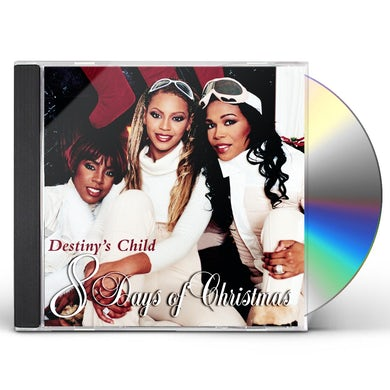 Destiny's Child 8 DAYS OF CHRISTMAS CD