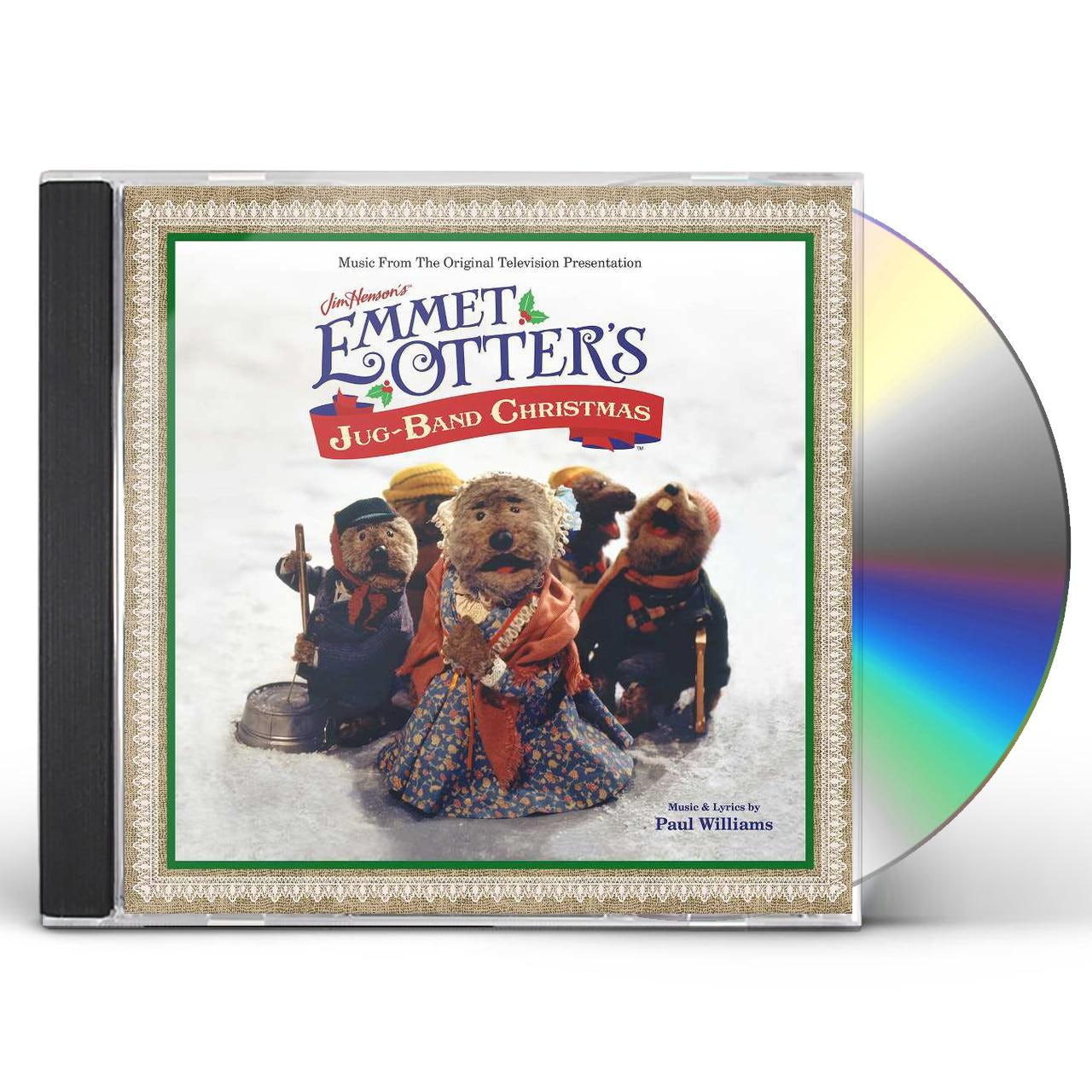 Emmet Otters Jug Band Christmas Book.Paul Williams Jim Henson S Emmet Otter S Jug Band Christmas Cd
