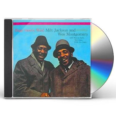 Milt Jackson BAGS MEETS WES CD