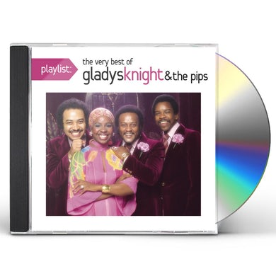 Gladys Knight & The Pips PLAYLIST: THE VERY BEST OF GLADYS KNIGHT & THE PIP CD