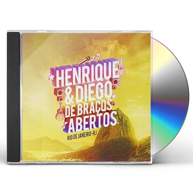 Henrique & Diego DE BRACOS ABERTOS AO VIVO CD