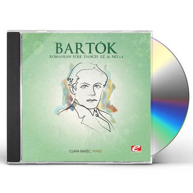 Bartok ROMANIAN FOLK DANCES SZ. 56, NO. 1 - 6 CD