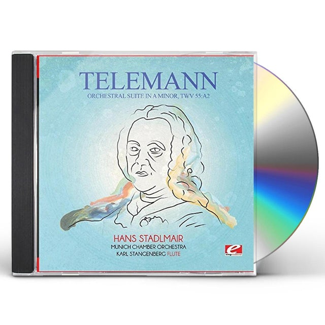 Telemann ORCHESTRAL SUITE IN A MINOR TWV 55:A2 CD