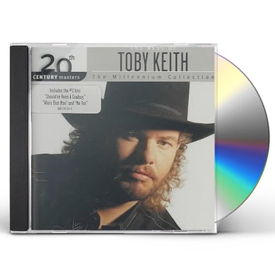 Toby Keith 20TH CENTURY MASTERS: MILLENNIUM COLLECTION CD