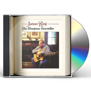 James King BLUEGRASS STORYTELLER CD