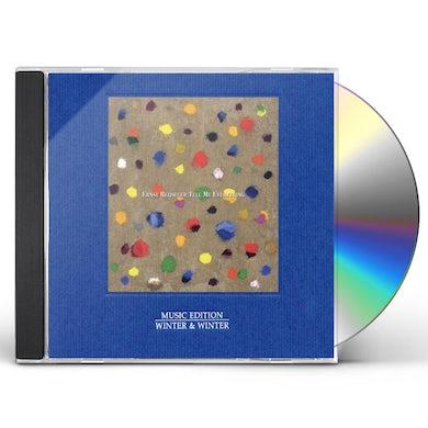 Ernst Reijseger TELL ME EVERYTHING CD